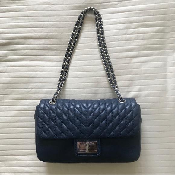 Karl Lagerfeld Paris Crossbody Shoulder Flap Bag
